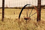 Carolyn Pettijohn - Rusted Wagon Wheel