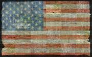Michelle Calkins - Rustic American Flag