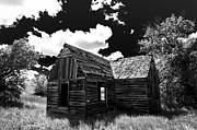 Black And White Photography Metal Prints - Rustic Barn Metal Print by Scott McGuire