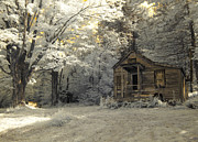 Clapboard House Photos - Rustic Cabin by Luke Moore
