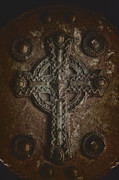 Contempt Posters - Rustic Cross Poster by Margie Hurwich