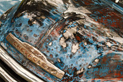 Classic Automobile Prints - Rustic Print by Dennis Hedberg