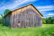 Pa Barns Framed Prints - Rustic Framed Print by Guy Whiteley
