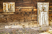 Picture Window Frame Photos Art - Rustic Old Colorado Barn Door and Window by James Bo Insogna