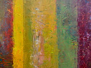 Michelle Calkins - Rustic Stripes with Yellow