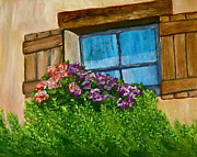 Linda S Watson - Rustic Window with...