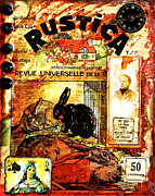 Antique Mixed Media Originals - Rustica by Bellesouth Studio