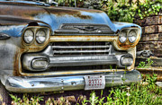 Chevy Pickup Prints - Rusting Away Print by Ken Smith