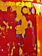Abstract Graphic Prints - Rusting Tank Print by Chris Berry