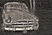 Rusted Cars Prints - Rustoleum Bucket Print by William Fields