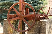 Denyse Duhaime - Rusty Antique Mill Gears