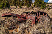 Rusted Cars Photos - Rusty Automobile by Sue Smith