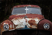 Bruce Photos Prints - Rusty Car Print by Bruce Siulinski