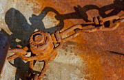 Jonathan Welch Prints - Rusty Chain Print by Jonathan Welch