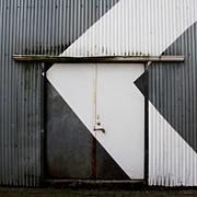 Rusty Door- Photographay Print by Linda Woods