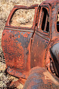 Rusty Doors Print by Sue Smith