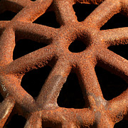 Drain Art - Rusty Drain Grate by Art Blocks