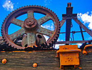 Rusty Gear Print by Gregory Dyer