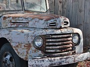 Unrestored Posters - Rusty Grille Poster by Jk Images