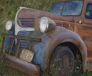 Rust Paintings - Rusty Memories by Catherine Davis