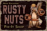 Rusty Nuts Print by JQ Licensing