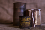 Hardware Photos - Rusty Old Cans by Andrew Pacheco