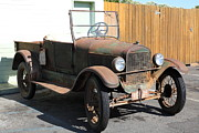 Jalopy Photos - Rusty Old Ford Jalopy 5D24641 by Wingsdomain Art and Photography