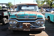 Jalopy Photos - Rusty Old Ford Jalopy 5D24643 by Wingsdomain Art and Photography
