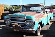 Classic Trucks Photos - Rusty Old Ford Jalopy 5D24644 by Wingsdomain Art and Photography