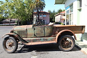 Jalopy Photos - Rusty Old Ford Jalopy 5D24649 by Wingsdomain Art and Photography