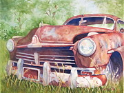 Fender Painting Originals - Rusty Relic by Daydre Hamilton