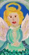 Angel Drawings - Ruth E. Angel by Mary Carol Williams
