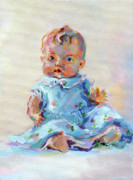 Baby Doll Prints - Ruthie Print by Kimberly Santini