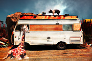 Whimsy Photos - RV Trailer Park 5D22705 by Wingsdomain Art and Photography