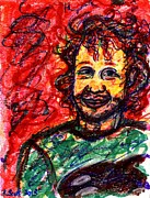 Impressionistic Drawings - Ryan by Rachel Scott