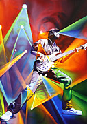 Jam Bands Paintings - Ryan Stasik  by Joshua Morton