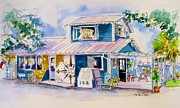Safe Haven Prints - Ryans Port Market Print by Susan Dade