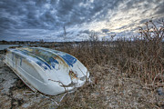 Rye Dinghy Print by Eric Gendron
