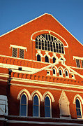 Tennessee Landmark Photo Framed Prints - Ryman Auditorium Framed Print by Brian Jannsen