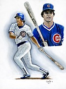 Chicago Cubs Paintings - Ryno by Jason Yoder
