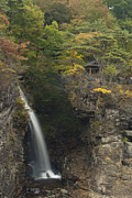 Waterfall Photos - Ryuokyo Gorge by Aaron S Bedell