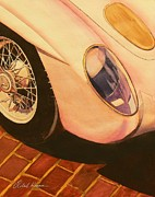 Automobilia Paintings - S L R  by Robert Hooper