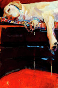 Canine Paintings - Sacked by Molly Poole
