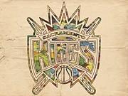 Sacramento Kings Poster Art Print by Florian Rodarte