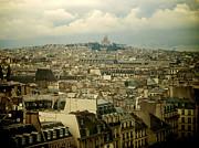 BERNARD JAUBERT - Sacre-Coeur and roofs of Paris. France.Europe.