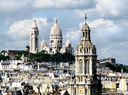 Sacre Coeur Art - Sacre Coeur Paris. France by Jennie Breeze