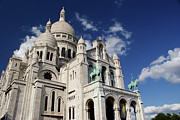 Sacre Coeur Photos - Sacre Coeur Paris by Gary Eason