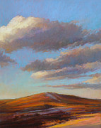 Cape Cod Pastels Originals - Sacred Dune by Ed Chesnovitch