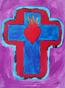 Peggy Carroll - Sacred Heart Cross
