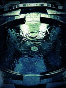 Indoor Drawings Metal Prints - Sacred Pool Metal Print by Mark David Gerson